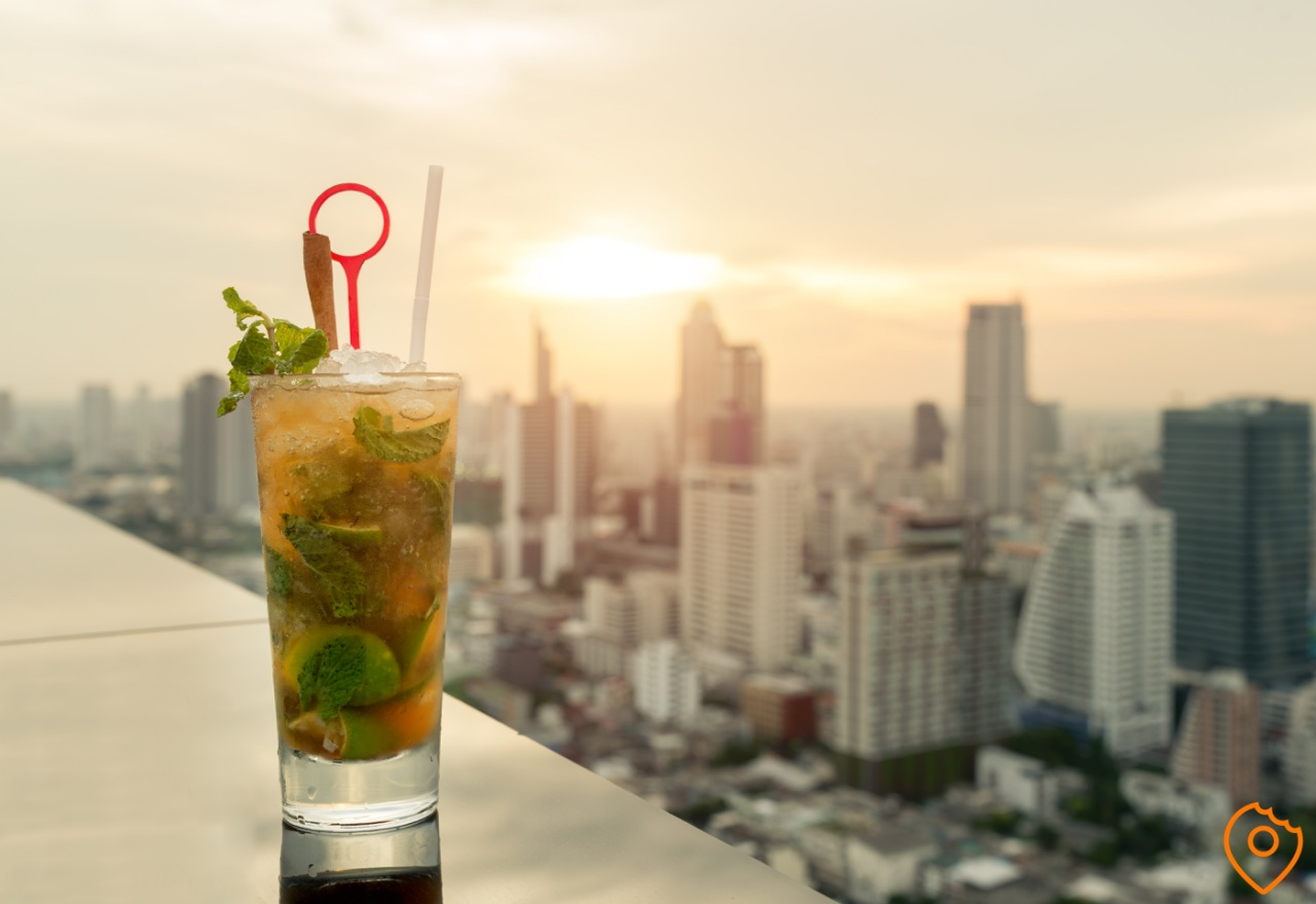 things to do in Bangkok - rooftop bar