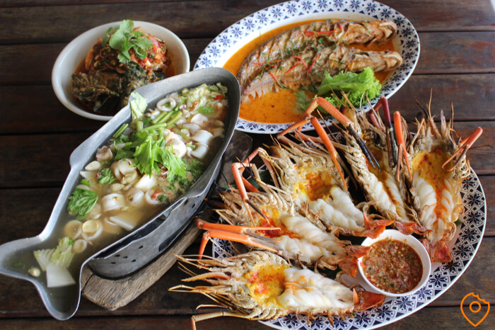 things to do in Bangkok - seafood