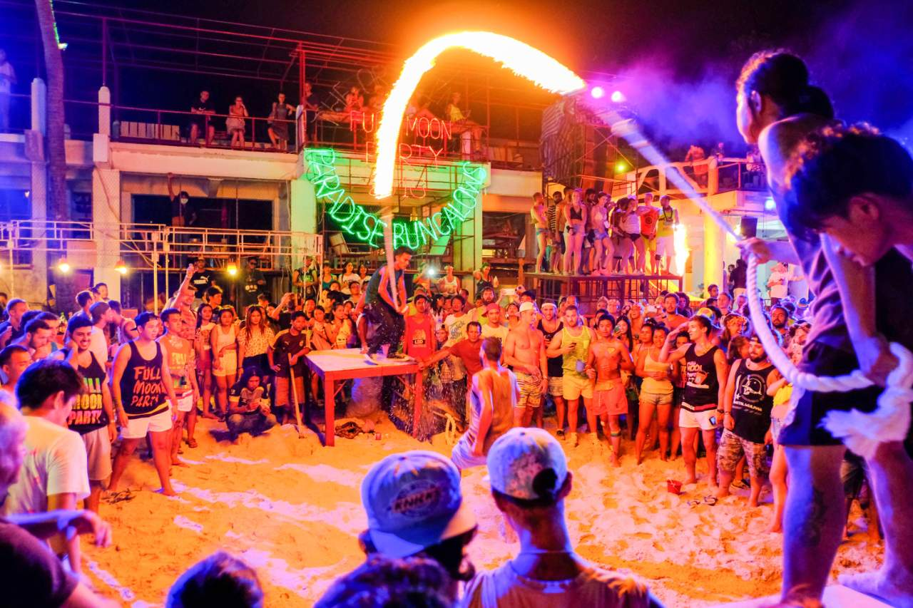 Things to do in Thailand - Full Moon Party Koh Phangan