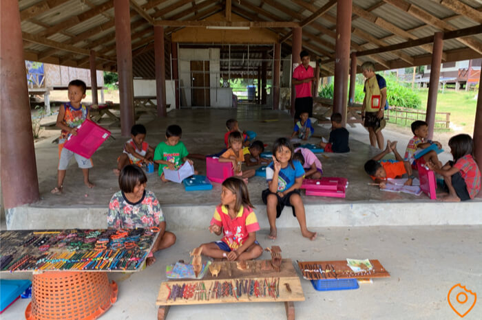 Things to do in Thailand - Surin Island Moken Kids