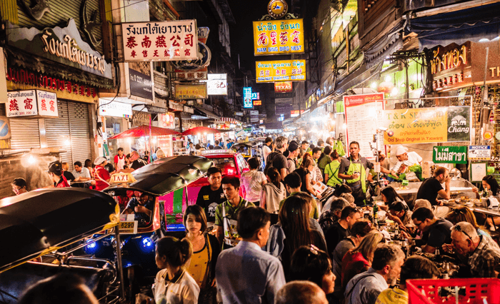 things to do khao san chinatown