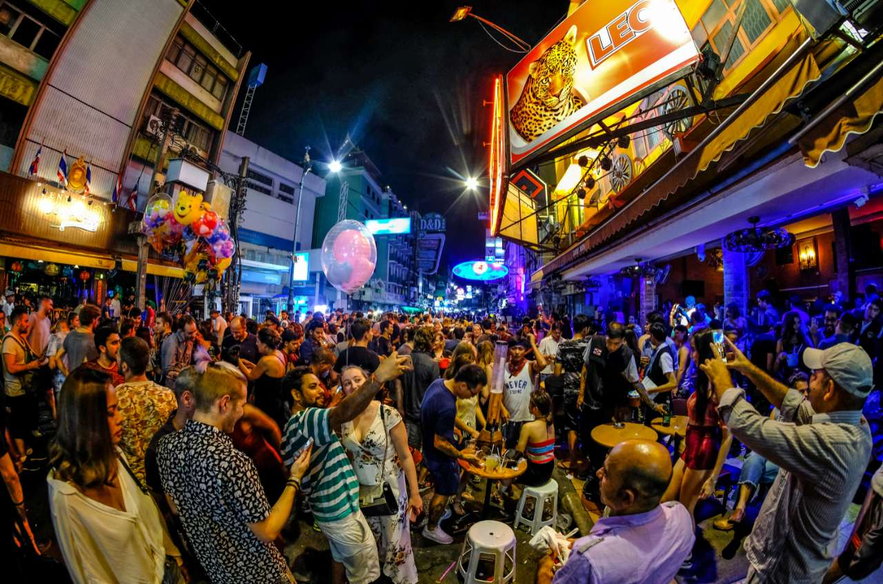things to do khao san nightlife