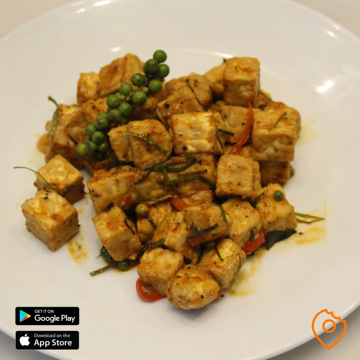Southern Thai Spicy Stir Fry Tempeh