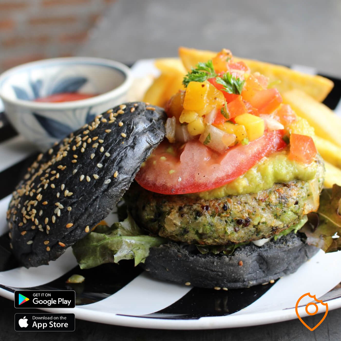broccoli revolution vegetarian burger