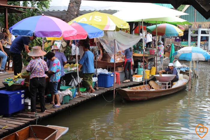 Floating Markets in Bangkok Taling Chan