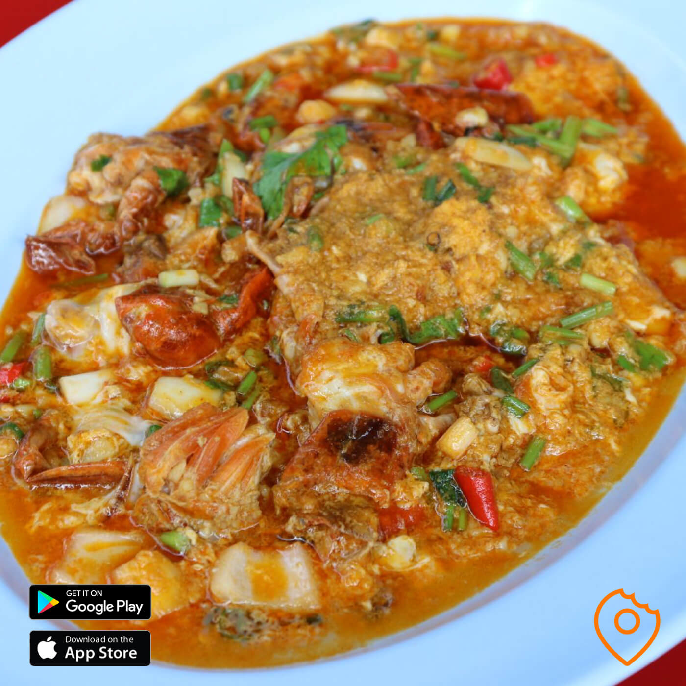 Stir-Fried Soft-Shell Crab in Curry_Powder