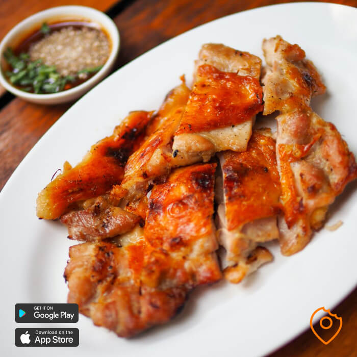 What To Eat In Chiang Mai - Grilled Chicken