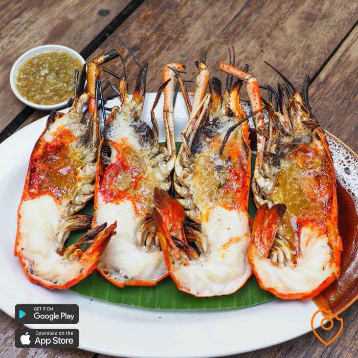 What To Eat In Chiang Mai - grilled prawns
