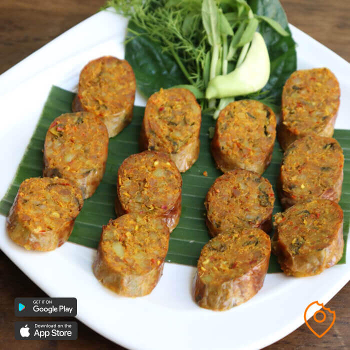 What To Eat In Chiang Mai - Chiang Mai Sausage
