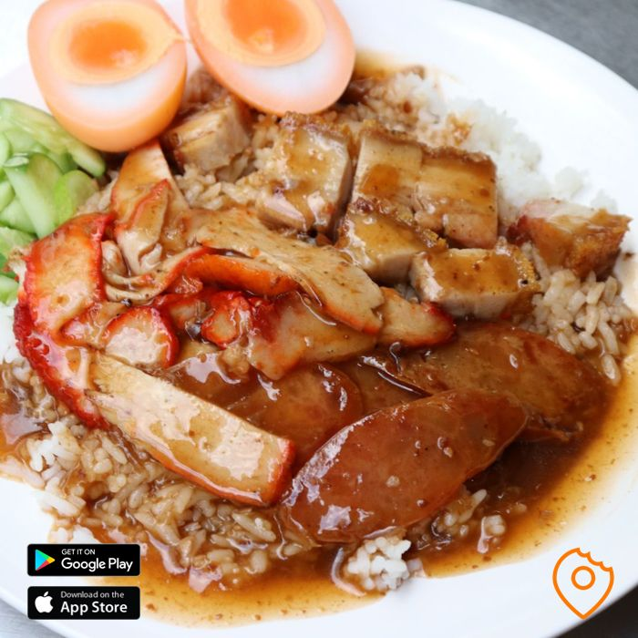 What To Eat In Thailand - Khao Moo Grob