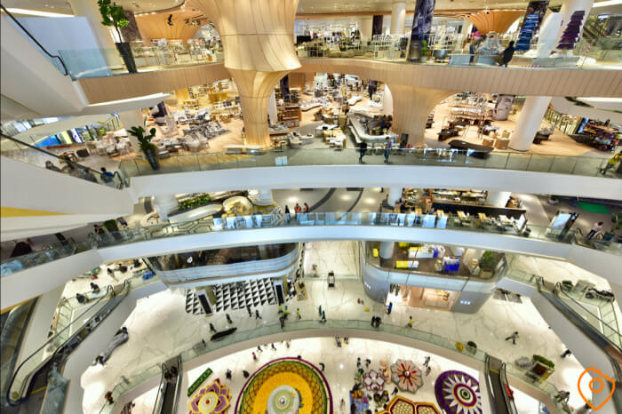 Where To Stay In Bangkok For Shopping - ICONSIAM interior