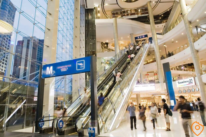 Where To Stay In Bangkok For Shopping - Terminal 21