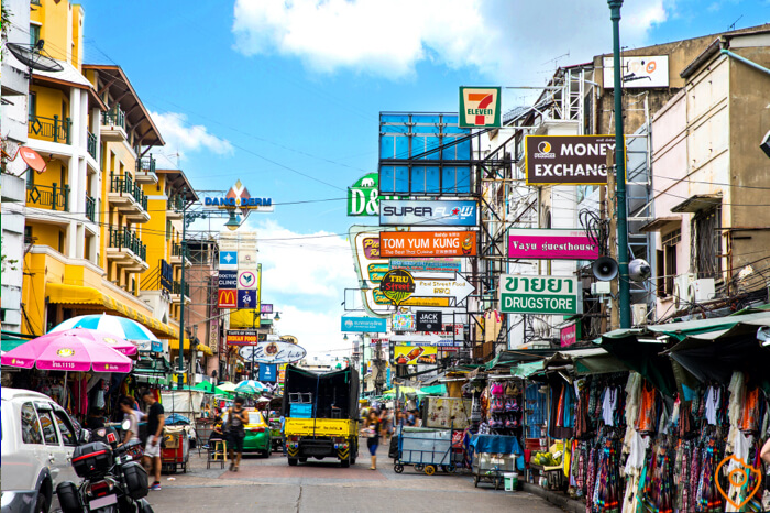 Best Area To Stay In Bangkok For Sightseeing - Khao San Road